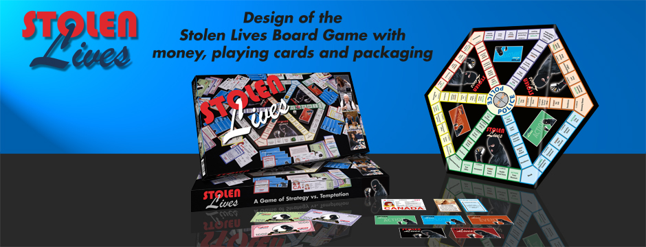 Board Game packaging example